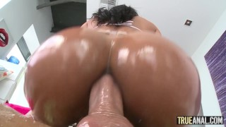 TRUE ANAL Abby Lee Brazil Gets Her Ass Pounded And Gaped